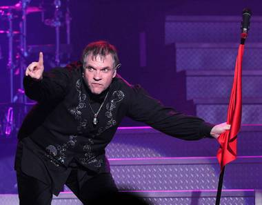 Meat Loaf at The Joint in the Hard Rock Hotel on Aug. 20, 2010.