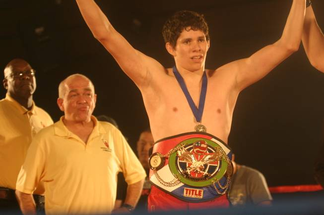 Jimmy Jones defended his 135 pound title against Maurice Senters at Tuff-N-Uff.