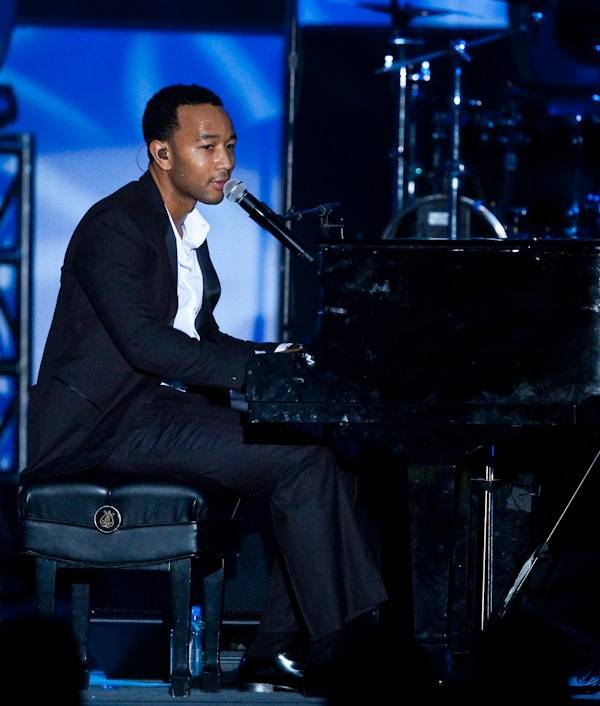 John Legend at the 2010 Retailer Awards, during CES 2010, in the Paris Ballroom at the Paris on Jan. 8, 2010.