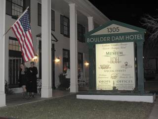 People attend the 50th anniversary celebration of the Boulder City charter Saturday night at the Boulder Dam Hotel, 1305 Arizona St.