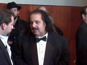 A tux of a porn star: Ron Jeremy goes formal.