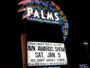 The Palms, site of the 2010 AVN Awards show at Pearl Concert Theater.
