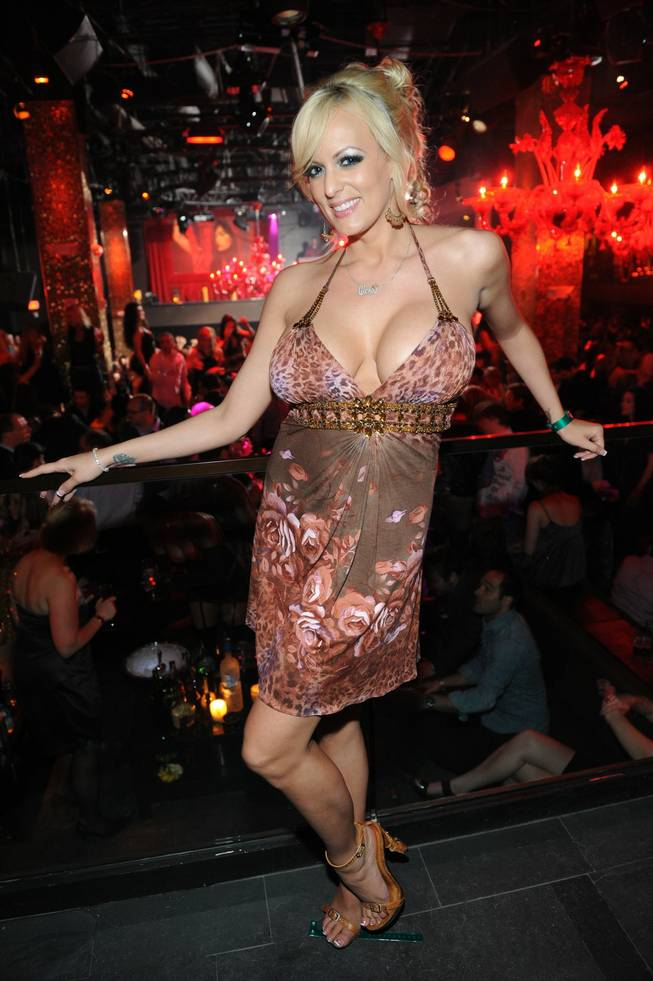 Stormy Daniels at Tao inside The Venetian.