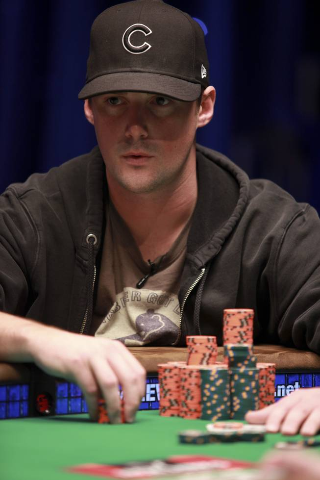 Eric Baldwin, CardPlayer Magazine's 2009 Player of the Year, competes in the World Series of Poker last summer.