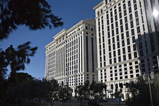 The Octavius tower at Caesars Palace is the newest addition to the hotel-casino, located on the southwest part of the property, seen on Thursday, Jan. 14, 2010.