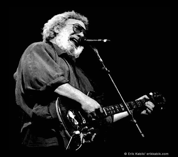 Jerry Garcia of The Grateful Dead.