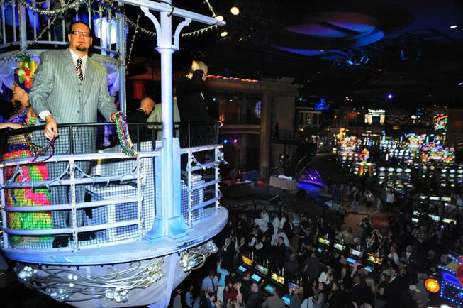 Penn Jillette, a one-man Show in the Sky at the Rio.