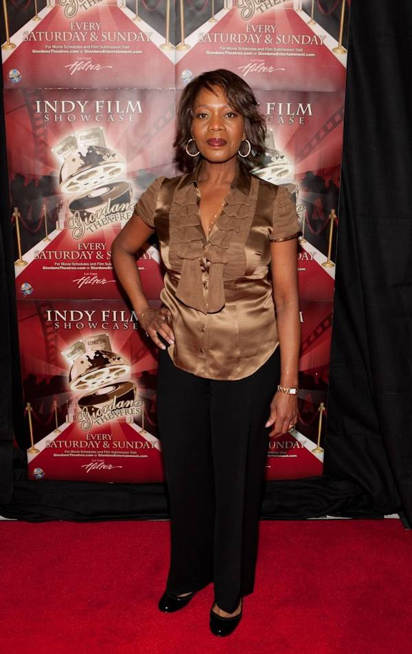 Alfre Woodard at the Giordano World Entertainment premiere of <em>Reach for Me</em> at the Las Vegas Hilton on Jan. 22, 2010.