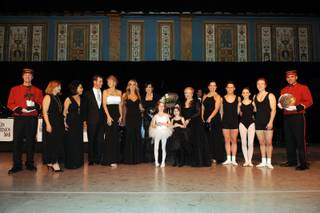 Nevada Ballet Theater honored Marie Osmond as its Woman of the Year in the Champagne Ballroom of the Paris on Jan. 23, 2010.