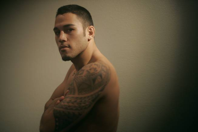 "Brad Tavares poses for a photo while competing on the 11th season of ""The Ultimate Fighter"" in this file photo from 2010."