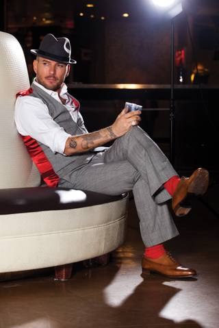 New Caesar's Palace headliner Matt Goss