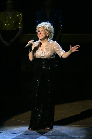 Bette Midler performs during the final show of