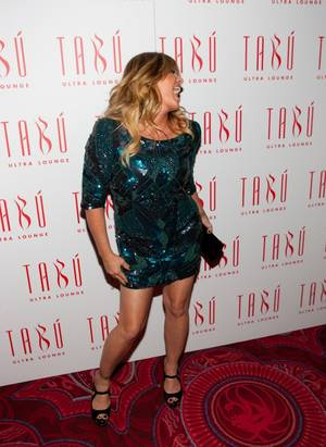 Nicole Eggert's 38th Birthday @Tabu