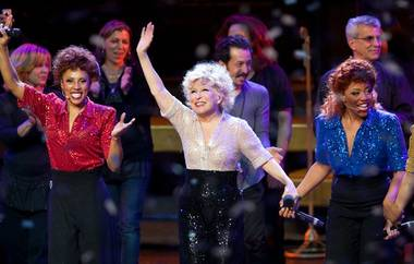 Bette Midler appears onstage in her final performance of The Showgirl Must Go On in The Colosseum at Caesars Palace on Jan. 31, 2010.