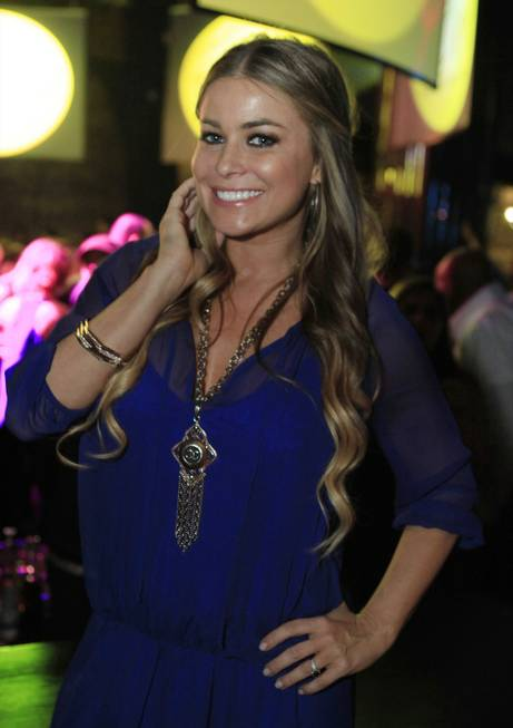 Carmen Electra at Eve Nightclub in CityCenter's Crystals.