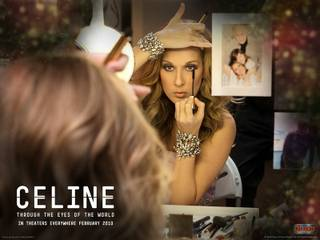 A still from Celine Dion's new movie Celine: Through the Eyes of the World.