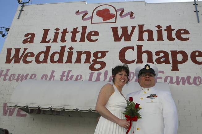 Valentine's Day at the Little White Wedding Chapel