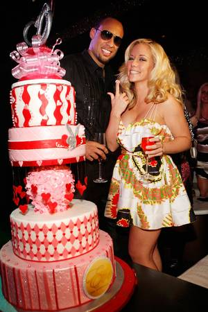 Kendra Wilkinson & Hank Baskett @Eve