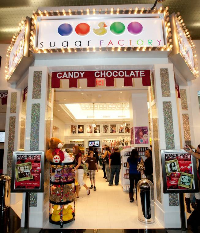 The Sugar Factory grand opening in Planet Hollywood's Miracle Mile Shops on Feb. 14, 2010.