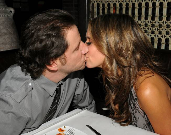 Actor Jamie Kennedy and actress Jennifer Love Hewitt attend the Tao and Lavo anniversary weekend at Lavo in the Palazzo hotel on Oct. 3, 2009, in Las Vegas.