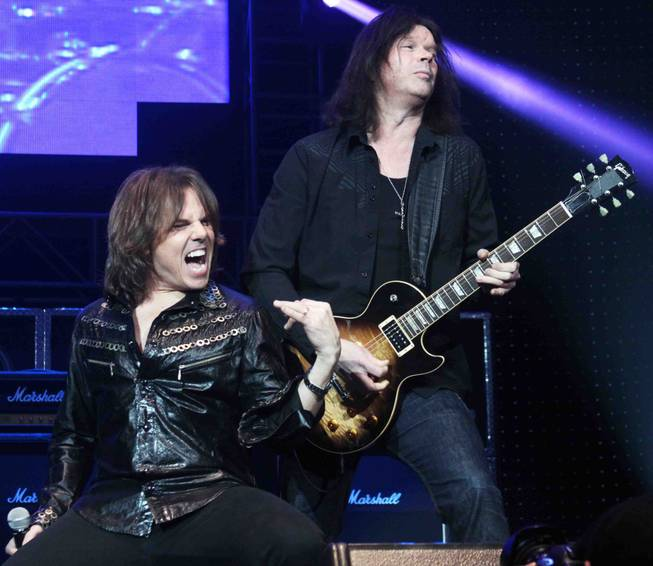 Joey Tempest and John Norum at the Brennan Rock and ...