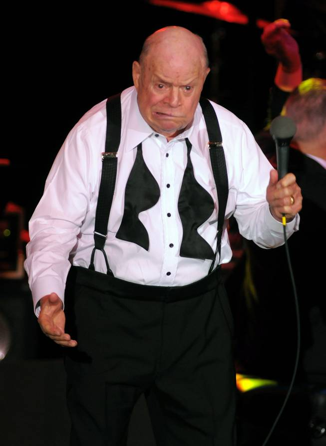Don Rickles performs at The Orleans on Feb. 20, 2010.