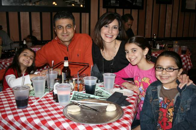 Families visited the new Grimaldi's location in Boca Park for a fundraiser for the Lied Discovery Children's Museum.