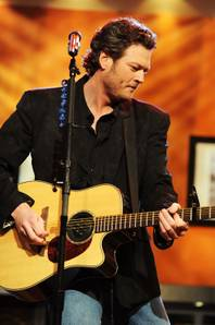 Blake Shelton on CBS' <em>The Early Show</em>.