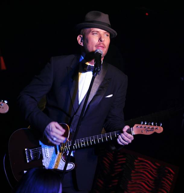 Matt Goss performs at the Gossy Room in Caesars Palace on March 12, 2010.