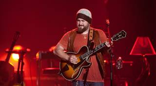 Zac Brown of the Zac Brown Band at The Joint in the Hard Rock Hotel on March 13, 2010.