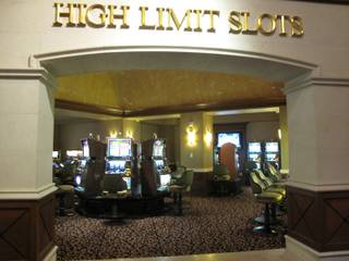The high limit slots room was empty Sunday at Casino MonteLago, which closed at midnight. The casino's closure is a result of the Ritz-Carlton's announcement that it will close May 2.