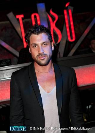 Maksim Chmerkovskiy at Tabu Ultra Lounge in the MGM Grand on March 26, 2010.