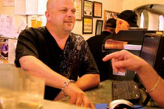 After 28 years in the business, Rick Harrison is an expert when it comes to spotting anything fake or stolen. As far as big-ticket items, Rick is the man for the job. Spotting a fake Cartier watch that most people would mistakenly purchase for $30,000 is just one of his many skills. Often acting as the middleman between his father and his son, Rick is the glue that holds this family and business together.