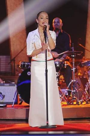 Sade performs during Week 4 of ABC's <em>Dancing With the Stars</em>.
