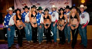 The grand opening of Gilley's Saloon at Treasure Island on April 15, 2010.