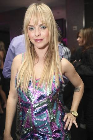 Taryn Manning at Ghostbar in the Palms.