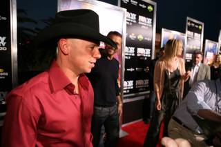 Kenny Chesney at the red carpet premiere for his Summer in 3D at Rave Motion Pictures in Town Square on April 17, 2010.