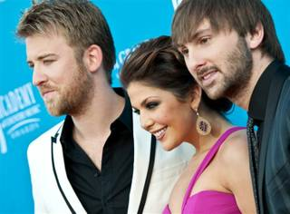 The 45th Academy of Country Music Awards at MGM Grand Garden Arena on April 18, 2010.