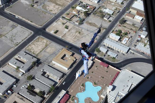 Skyjump Stratosphere's Newest Attraction