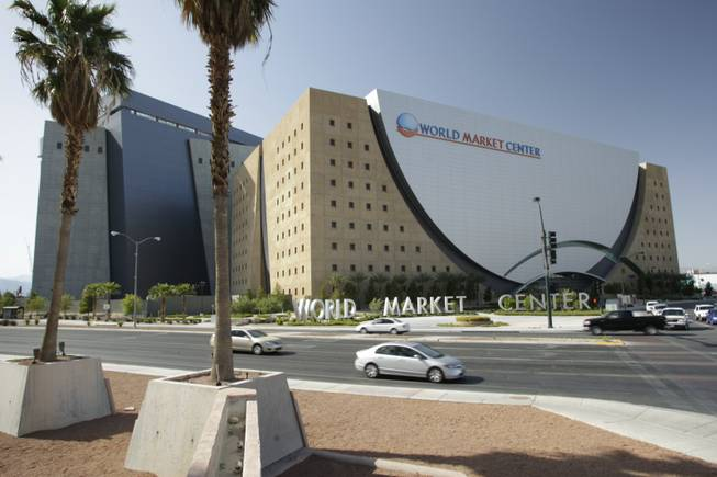 The World Market Center in downtown Las Vegas.