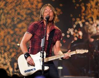 Keith Urban performs at The Joint in the Hard Rock Hotel on April 23, 2010.