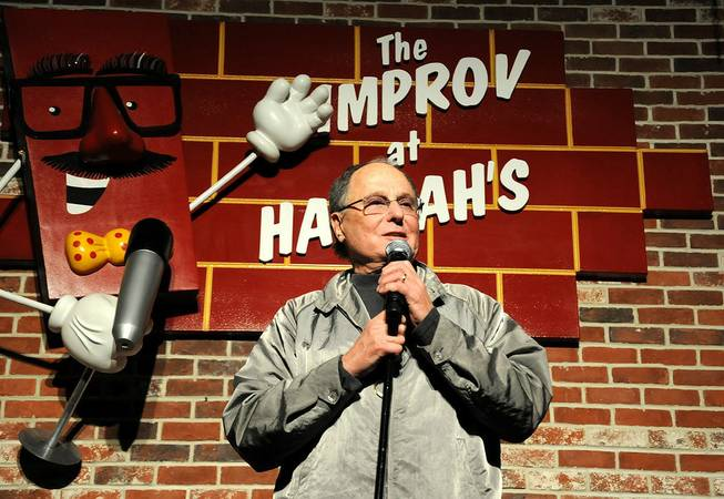 Improv founder Budd Friedman at the 15th anniversary celebration of ...