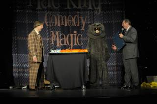 Mac King celebrates his 10th Anniversary in Las Vegas.