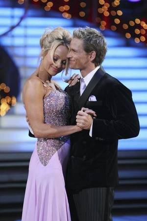 Pamela Anderson and Damian Whitewood have their last dance on <em>Dancing With the Stars</em> on May 4, 2010.