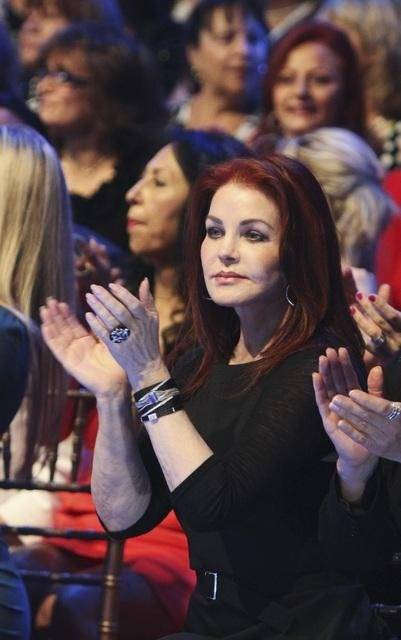 Priscilla Presley on <em>Dancing With the Stars</em> on May 4, 2010.