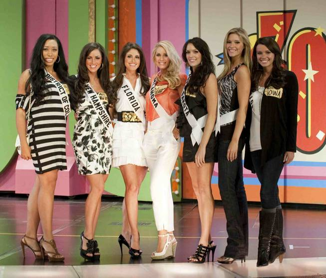 MacKenzie Green, Miss District Of Columbia USA 2010; Nicole Houde, ...