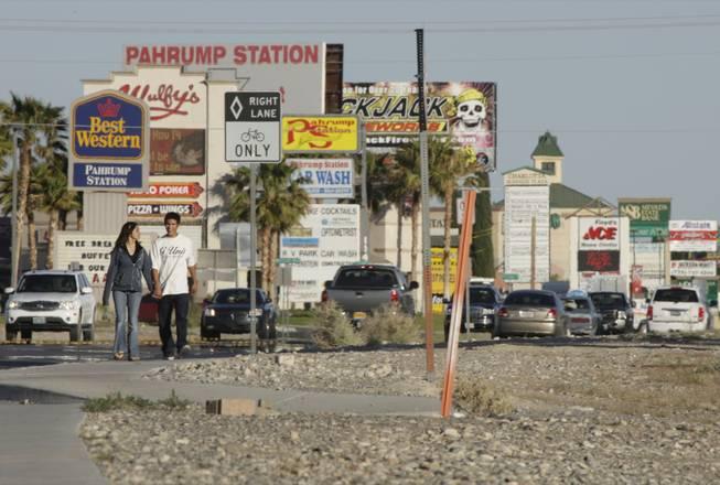 Pahrump might unplug from Nevada, plug into California - Las Vegas