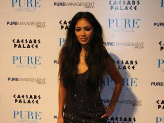 Nicole Scherzinger hosts at Pure in Caesars Palace on May 8, 2010.
