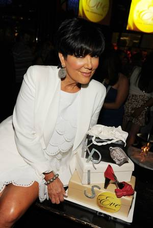 Kris Jenner at Beso and Eve