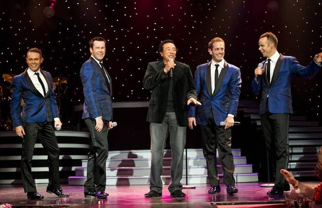 Smokey Robinson and Human Nature at Imperial Palace on May ...